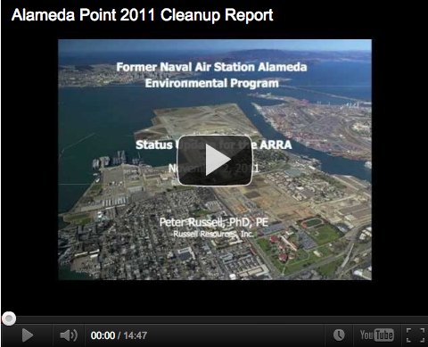 Video:  Alameda Point 2011 Cleanup Update
