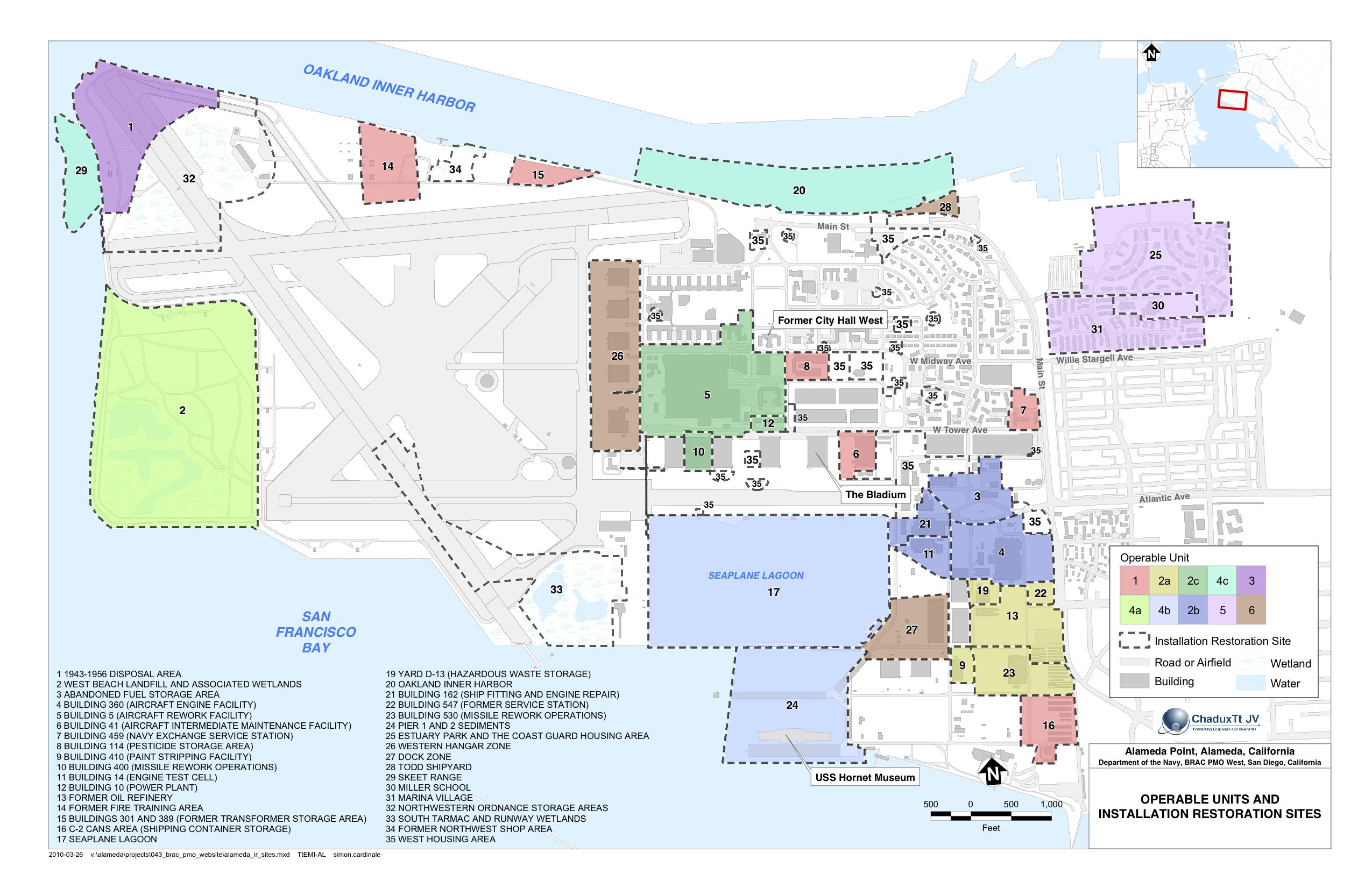 Maps Alameda Point Environmental Report