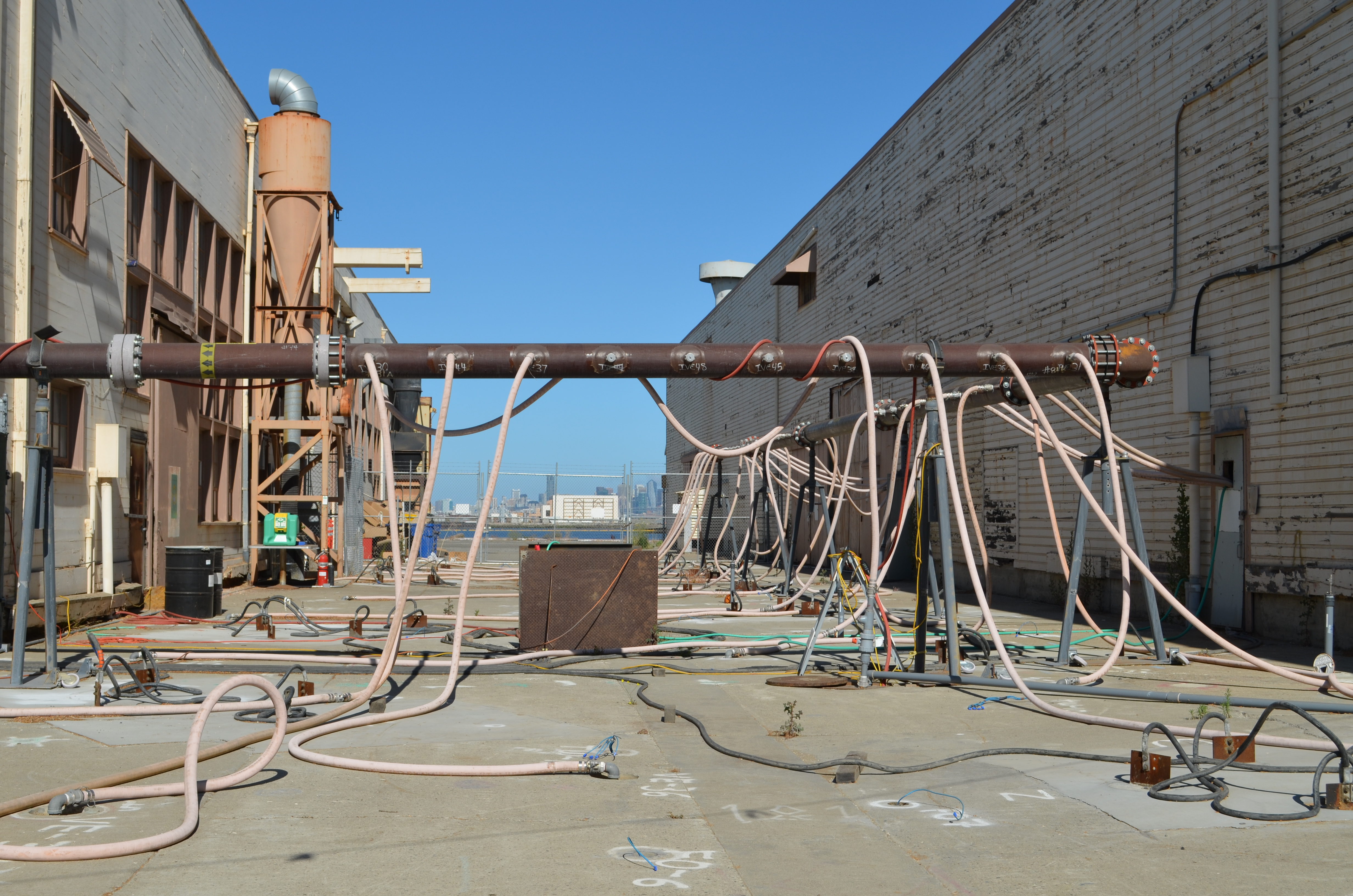 Heat treatment and vapor extraction - OU-2B