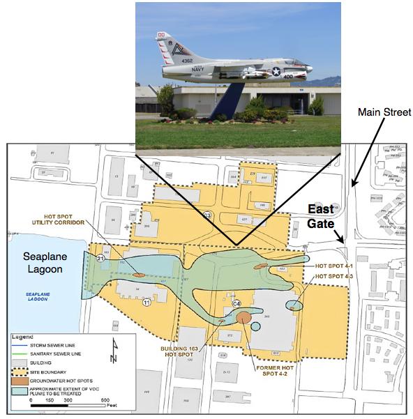 Jet at East Gate w OU-2B