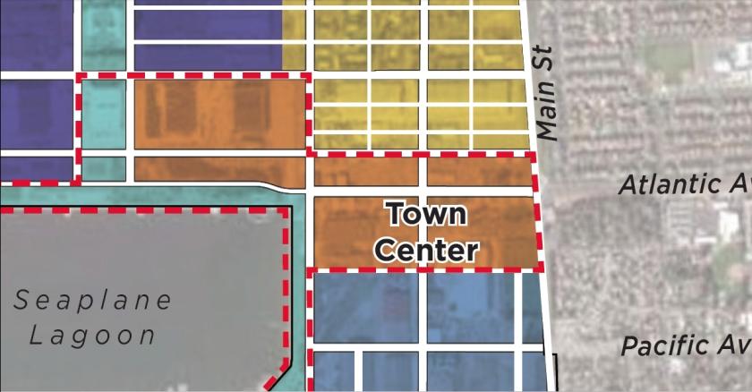 Town Center close-up