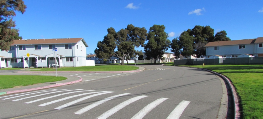 North Housing area.  Existing housing slated for demolition for create new, denser neighborhood.