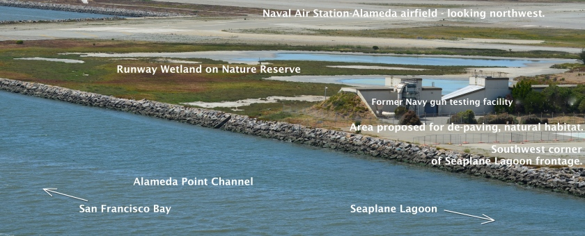 Runway Wetland - Seaplane Lagoon frontage - Channel