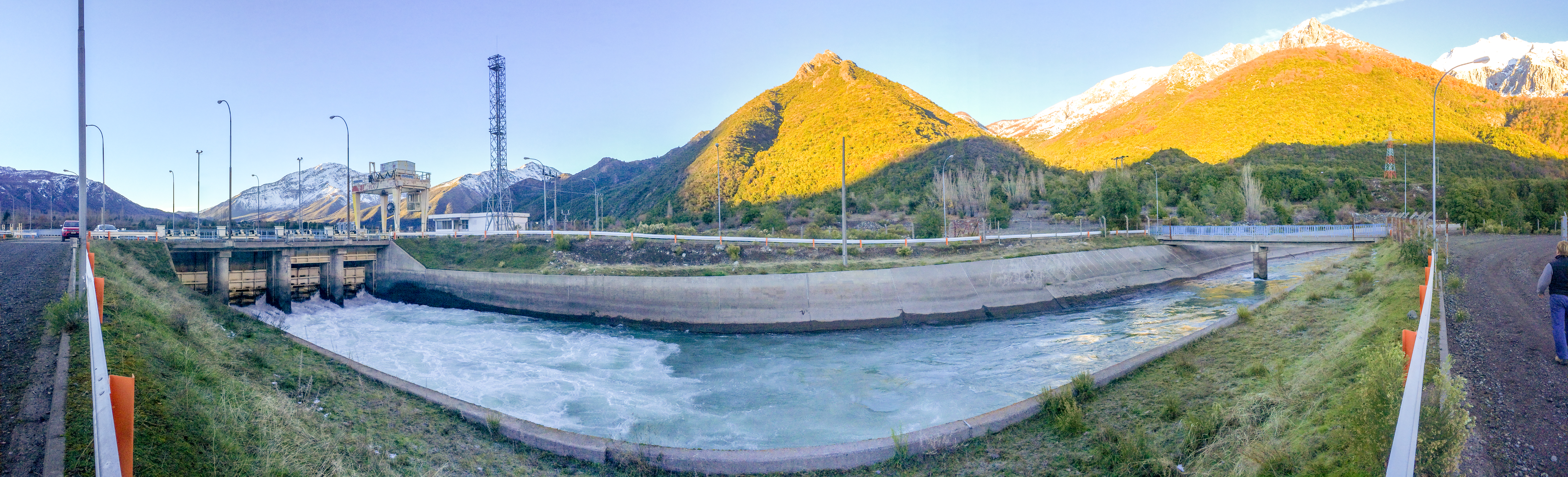 Water canal shown as an example of existing water flow where Natel Energy hydropower system can be installed.  Natel Energy photo.  Used by persmission.