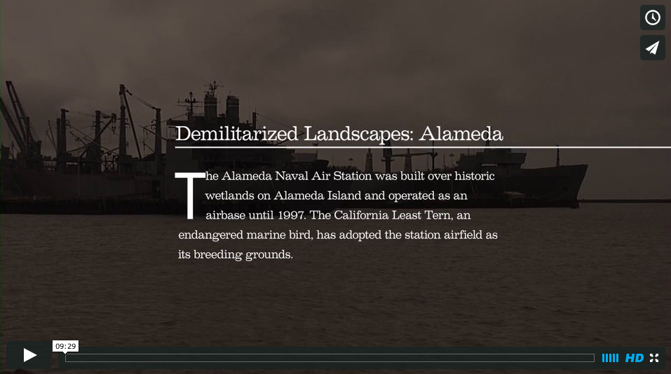 "Film: ""Demilitarized Landscapes"" produced for Oakland Museum"