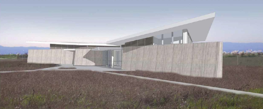 VA Conservation Management Office conceptual drawing.