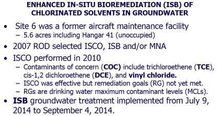 Site 6 bioremediation description