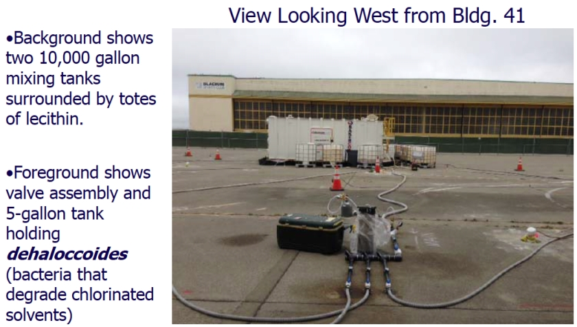 From Navy PowerPoint Presentation.  Bladium is in the background.