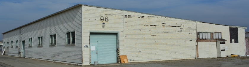 Building 98, located on the west side of Building 67, will be reused.