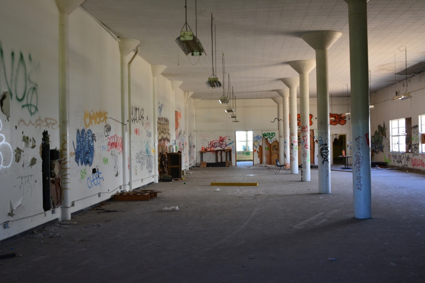 BEQ Mess Hall dining area Alameda Point