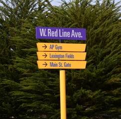 Wayfinding sign #9