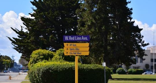 Wayfinding sign #2
