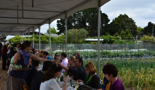 APC farm luncheon