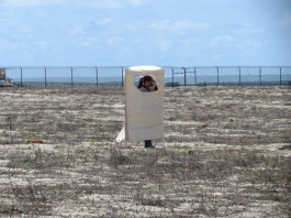 Recording data in the nesting area.