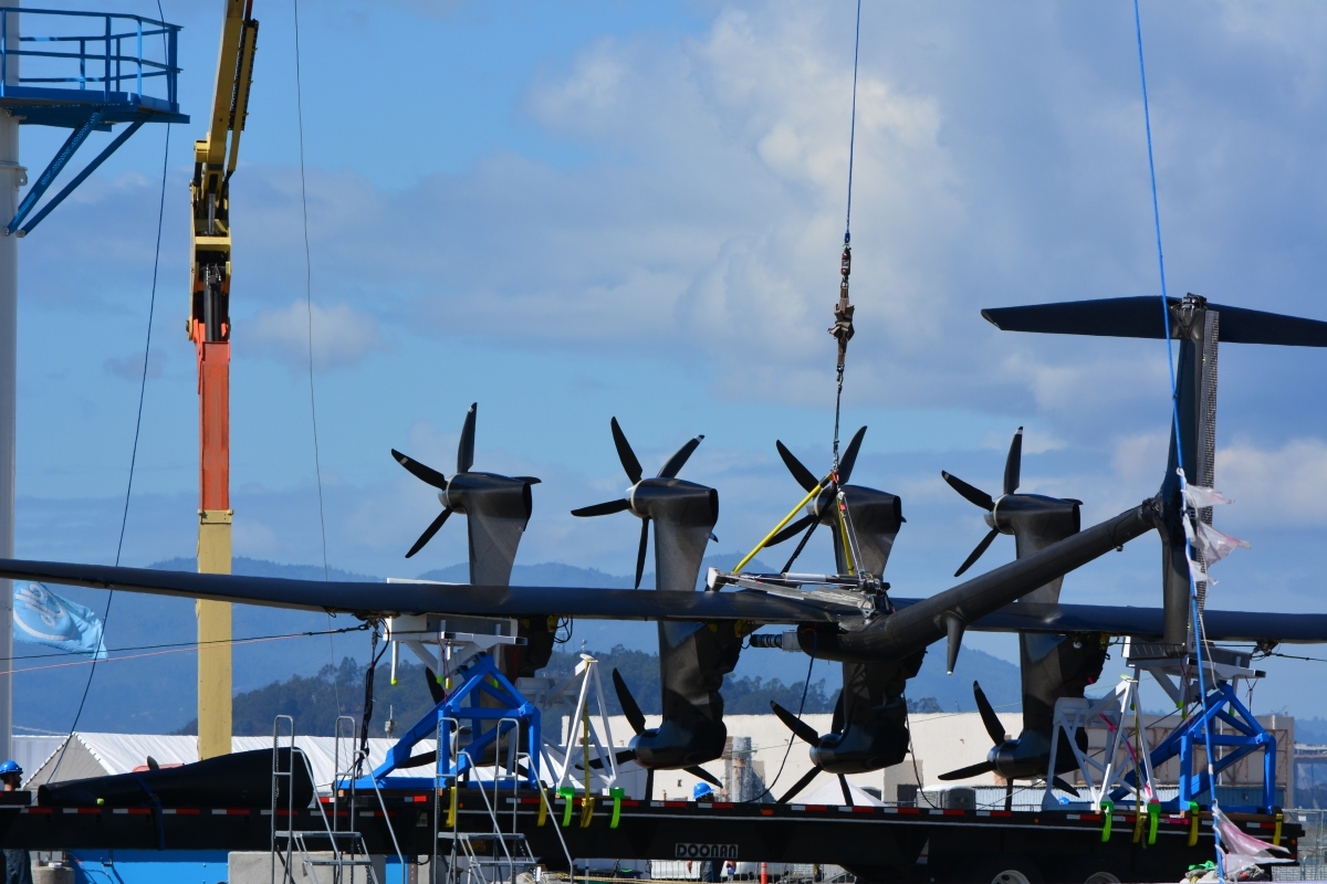 Google wind energy kite nears launch date