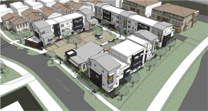 Stargell Commons, to be located at Bette Street and Stargell Avenue at Alameda Landing.