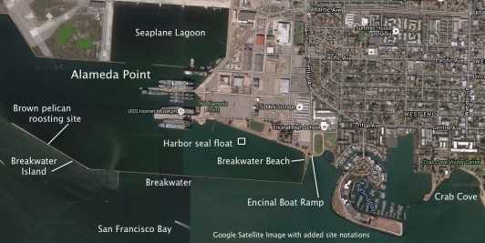 Alameda Point waterway