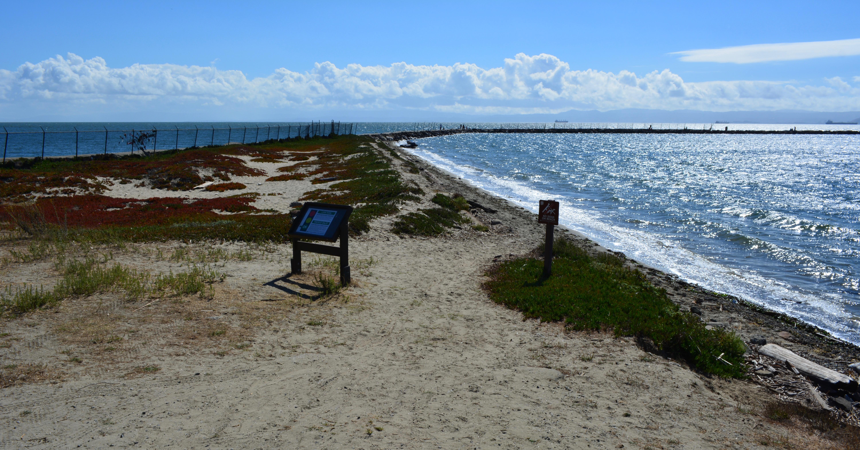 Breakwater Beach at Alameda Point