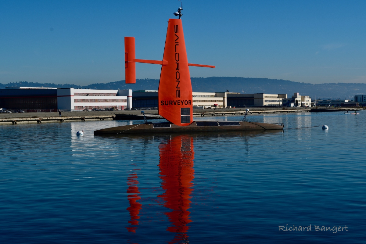 Saildrone launches world's largest deep ocean explorationdrone