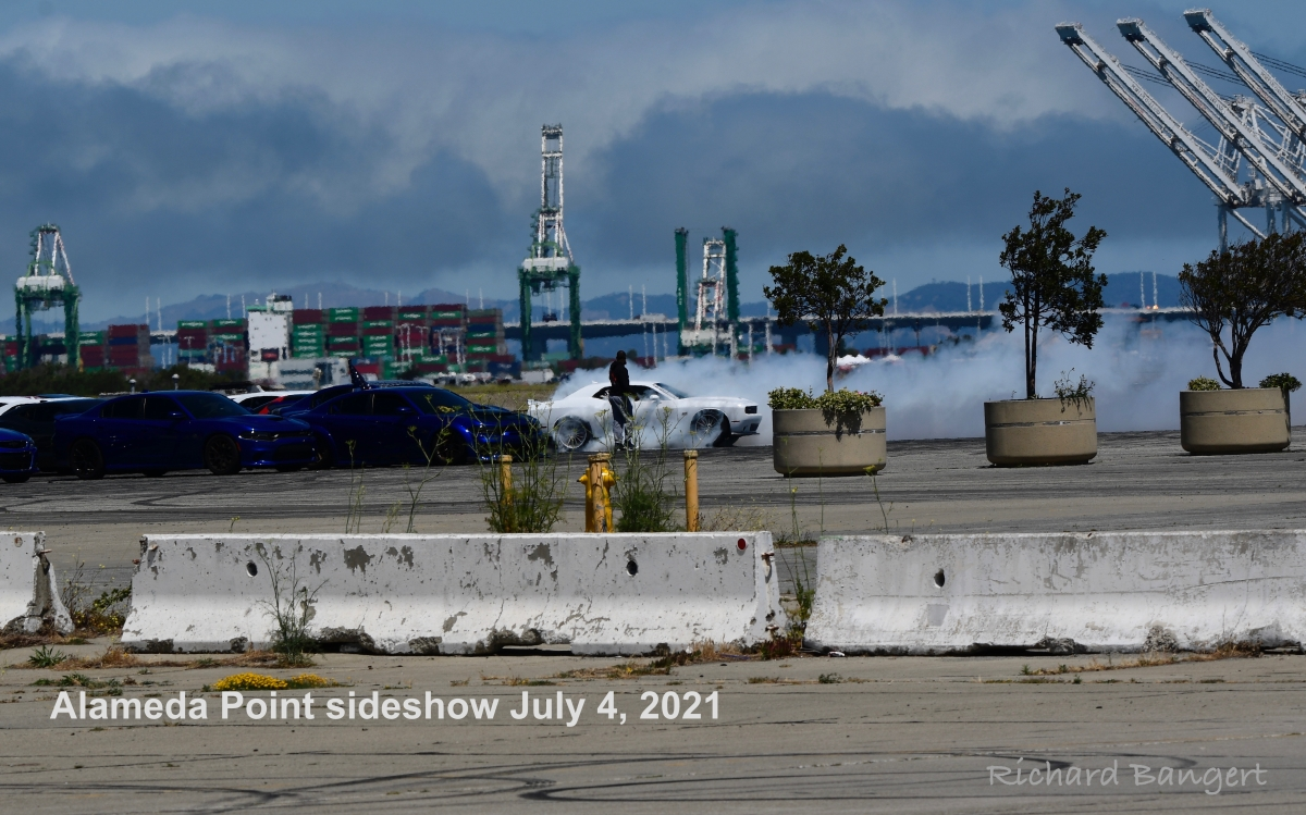 Sideshows Continue Unabated at AlamedaPoint